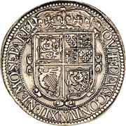 30 Shillings - Charles I (3rd Coinage, 5th Issue) – reverse