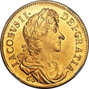 60 Shillings - James VII (Restrike) – obverse