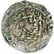 1 Penny - David I (Period A) – obverse