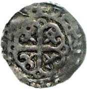 1 Penny - David I (Period A) – reverse