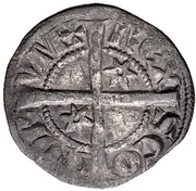 ½ Penny - Alexander III (2nd Coinage) – reverse