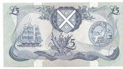 5 Pounds (Bank of Scotland) – reverse