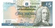 5 Pounds (Royal Bank of Scotland) – obverse