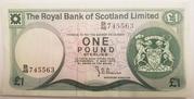 1 Pound (Royal Bank of Scotland) – obverse