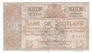 5 Pounds (Bank of Scotland) – obverse