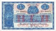 1 Pound (British Linen Bank) – obverse
