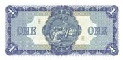 1 Pound (British Linen Bank) – reverse