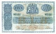 5 Pounds (British Linen Bank) – obverse