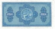 5 Pounds (British Linen Bank) – reverse