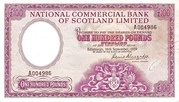 100 Pounds (National Commercial Bank of Scotland) – obverse