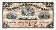 1 Pound (National Bank of Scotland) – obverse
