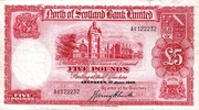 5 Pounds (North of Scotland Bank) – obverse