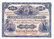 1 Pound (Clydesdale Bank) – obverse