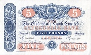 5 Pounds (Clydesdale Bank) – obverse
