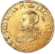 1 Ducat - James VI (3rd Coinage) – obverse