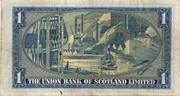 1 Pound (Union Bank of Scotland) – reverse