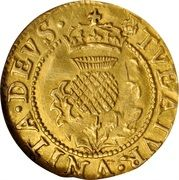 1 Thistle Crown - James VI (9th & 10th Coinages) – reverse