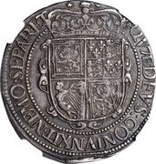 30 Shillings - Charles I (3rd Coinage, 4th Issue) – reverse