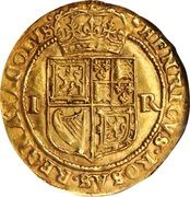 1 Double Crown - James VI (10th Coinage) – reverse