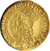 1 Britain Crown - Charles I (3rd Coinage, 1st Issue) – obverse