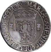 1 Ryal - Mary I (4th Period, Type II, Countermark of 1578) – obverse