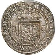 1 Ryal - Mary I (5th Period, Countermark of 1578) – obverse