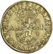44 Shillings - Mary I (1st Period, 2nd Issue) – obverse