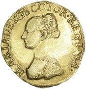 3 Pound Piece - Mary I (1st Period) – obverse