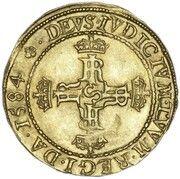 1 Lion Noble - James VI (4th Coinage) – reverse
