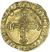 ⅔ Lion Noble - James VI (4th Coinage) – reverse
