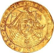1 Thistle Noble - James VI (5th Coinage) – obverse