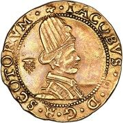 1 Hat Piece - James VI  (6th Coinage) – obverse