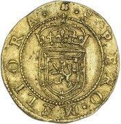 ½ Rider - James VI (7th coinage) – reverse