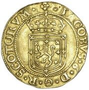 1 Sword and Sceptre Piece - James VI (8th Coinage) – obverse
