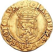 ½ Sword and Sceptre Piece - James VI (8th Coinage) – obverse