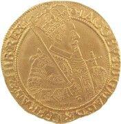 1 Unit - James VI (9th Coinage) – obverse