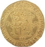1 Unit - James VI (9th Coinage) – reverse