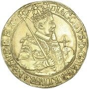 1 Unit - James VI (10th coinage) – obverse