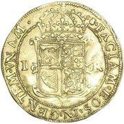 1 Unit - James VI (10th coinage) – reverse