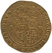 1 Double Crown - James VI (9th Coinage) – reverse