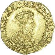 1 Britain Crown - James VI (10th Coinage) – obverse