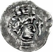 1 Penny - David I (Period B) – obverse