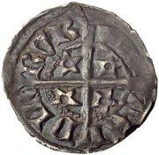 ½ Penny - Robert II – reverse