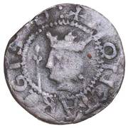 ½ Penny - David II (1st Coinage, 1st Issue) – obverse