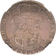 40 Shillings - William & Mary – reverse