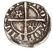 ½  Penny - Robert I – reverse