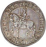30 Shillings - Charles I (3rd Coinage, 2nd Issue) – obverse