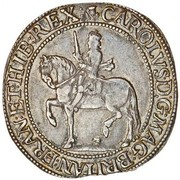 30 Shillings - Charles I (3rd Coinage, 4th Issue) – obverse