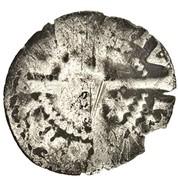 ½ Penny - John Balliol (2nd Coinage) – reverse