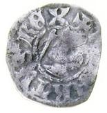 ½ Penny - Robert II – obverse